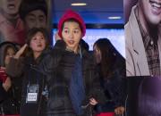 ソン・ジュンギ、ピンクのニット帽をかぶって登場 -『マイ・リトル・ヒーロー』VIP試写会