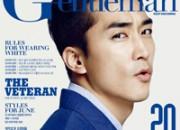 ソン・スンホン、「Gentleman KOREA」6月号に登場!家にいるようなナチュラルなスタイルを披露!