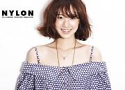 女優チン・セヨン、「NYLON」6月号で爽やかなスポーツファッションを披露!