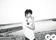 チョン・ウソン、白黒でシックに登場!「GQ KOREA」6月号