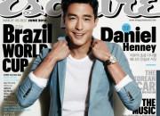 ダニエル・ヘニー、「Esquire」6月号のグラビアに登場、スタイリッシュなスタイルを披露