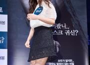 女優キム・ソウン、映画『少女怪談』の制作発表会に出席!白のトップスと黒いスカートの清楚な装いで登場