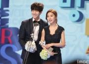 ソン・ジェリム&キム・ソウンカップル、「2014 MBC 放送芸能大賞」でベストカップル賞を受賞