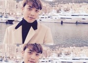 """BIGBANG V.I、海外旅行中に近況公開 """"優しい微笑でファンの心を魅了"""""""