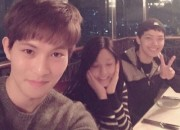 CNBLUEイ・ジョンヒョン、AOAソリョン&ヨ・ジングと「『オレンジマーマレード』ファイティン!」