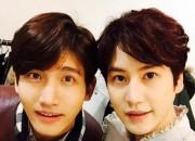 東方神起 チャンミン&SUPER JUNIOR キュヒョン、仲睦まじいツーショットを公開