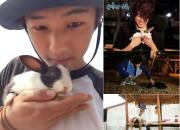 CNBLUEカン・ミンヒョク、ウサギを抱いたキュートなセルカを公開。