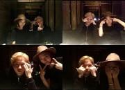 パク・シネ、beastジュンヒョンと東京でデート,  ツーショット写真公開「眉毛がないよ」